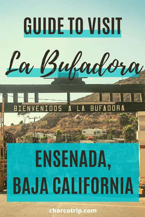 Guide to visit la Bufadora in Ensenada, Baja California, Mexico. A place that you cannot miss if you travel in Baja California state.